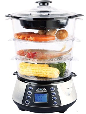 Heaven Fresh HF 8333 NaturoPure Digital Food Steamer