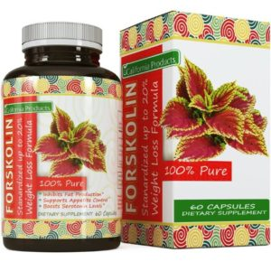 California Products 100% Pure Forskolin Extract