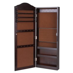SONGMICS Wall Mounted Jewelry Armoire