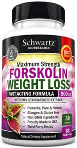 Schwartz Bioresearch Forskolin for Weight Loss