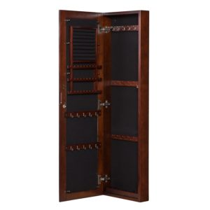 Southern Enterprises Wall Mount Jewelry Armoire Organizer