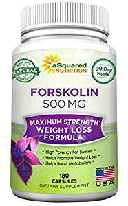 aSquared Nutrition 500mg Max Strength Forskolin