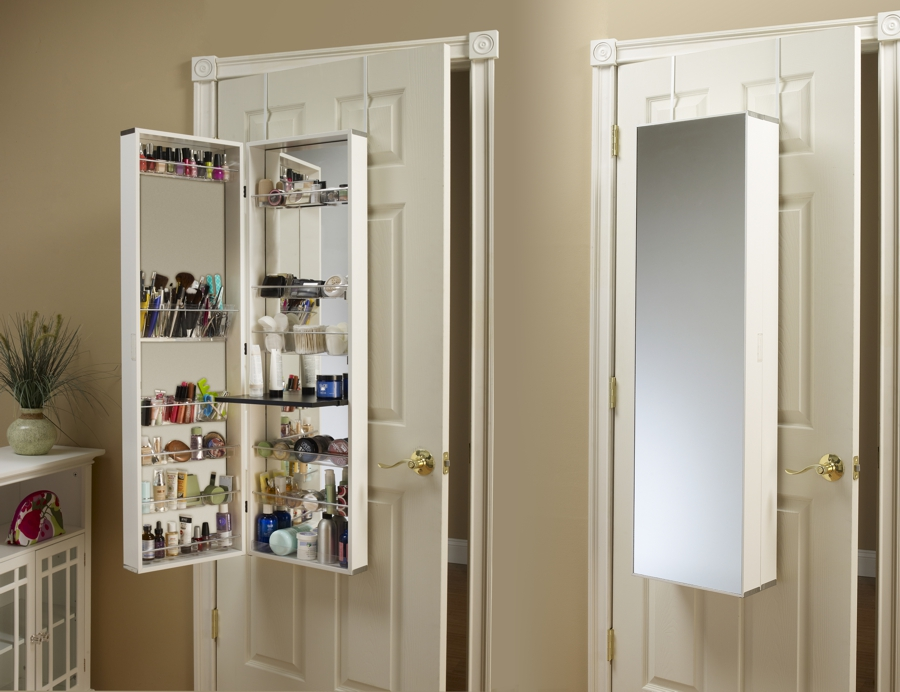 Wall Mount Jewelry Armoire Mirror wall mount jewelry armoire: 8 best organizer cabinets -2017
